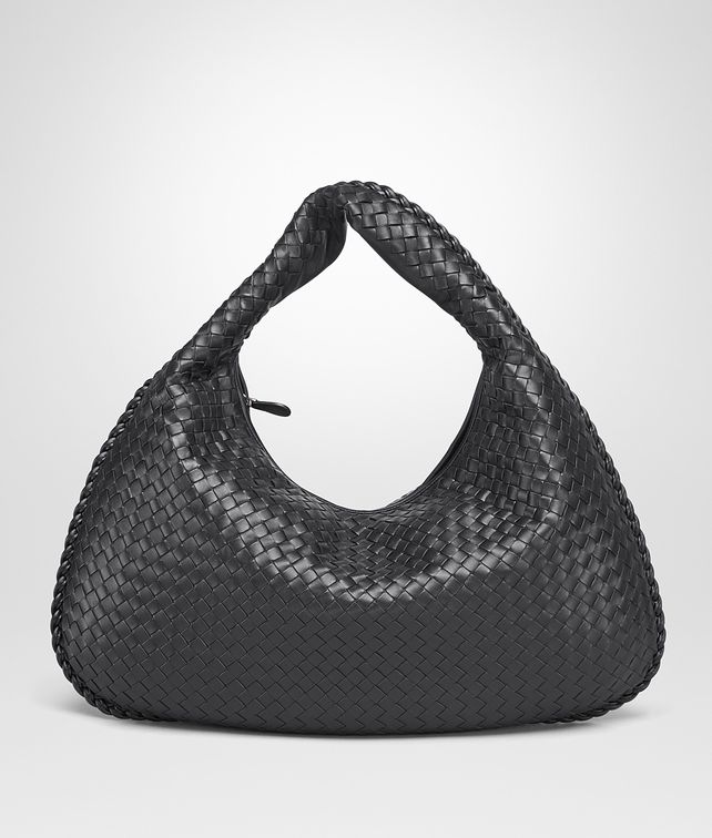 BOTTEGA VENETA LARGE VENETA BAG IN NERO INTRECCIATO NAPPA Hobo Bag Woman fp