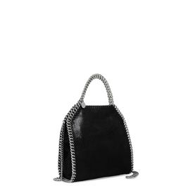 Mini tote bag Falabella en shaggy deer