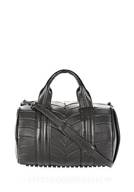 ROCCO IN NEOPRENE INJECTED BLACK WITH RHODIUM