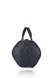 ALEXANDER WANG ROCCO IN PEBBLED NEPTUNE WITH RHODIUM Shoulder bag Adult 8_n_d