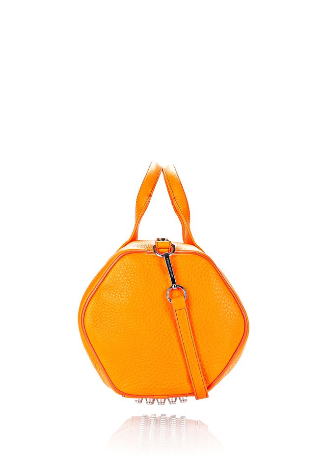 ALEXANDER WANG ROCCO IN SOFT PEBBLED FLAME WITH RHODIUM  Shoulder bag Adult 12_n_d