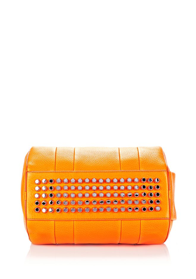 ALEXANDER WANG ROCCO IN SOFT PEBBLED FLAME WITH RHODIUM  Shoulder bag Adult 12_n_e