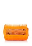 ALEXANDER WANG ROCCO IN SOFT PEBBLED FLAME WITH RHODIUM  Shoulder bag Adult 8_n_e