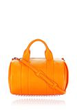 ALEXANDER WANG ROCCO IN SOFT PEBBLED FLAME WITH RHODIUM  Shoulder bag Adult 8_n_f