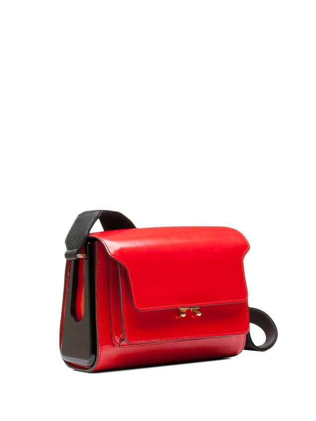 Cheap Sale Classic Outlet Cheap Online small Trunk satchel - Red Marni uHTXbv