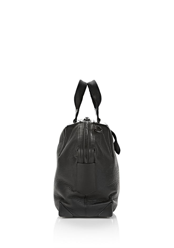 ALEXANDER WANG SMALL EMILE TOTE IN BLACK NEOPRENE WITH MATTE BLACK  TOTE/DEL Adult 12_n_e
