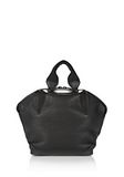 ALEXANDER WANG SMALL EMILE TOTE IN BLACK NEOPRENE WITH MATTE BLACK  TOTE/DEL Adult 8_n_a
