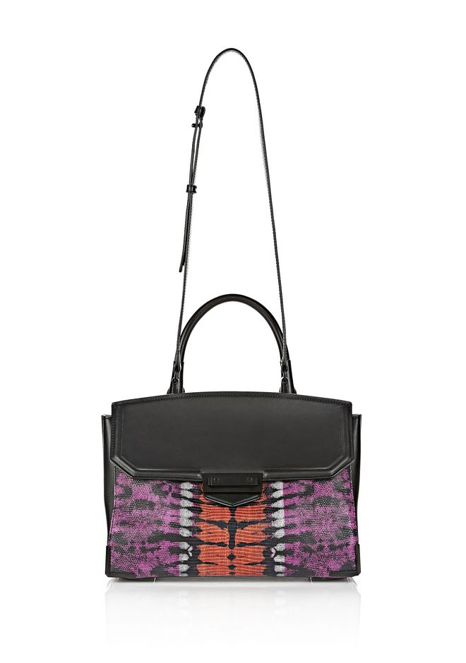 ALEXANDER WANG LARGE PRISMA SKELETAL MARION SLING IN TIE DYE WITH MATTE BLACK Shoulder bag Adult 12_n_a