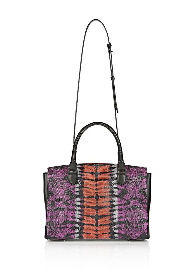 ALEXANDER WANG LARGE PRISMA SKELETAL MARION SLING IN TIE DYE WITH MATTE BLACK Shoulder bag Adult 12_n_d
