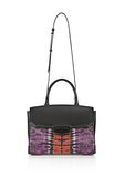 ALEXANDER WANG LARGE PRISMA SKELETAL MARION SLING IN TIE DYE WITH MATTE BLACK Shoulder bag Adult 8_n_a
