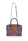 ALEXANDER WANG LARGE PRISMA SKELETAL MARION SLING IN TIE DYE WITH MATTE BLACK Shoulder bag Adult 8_n_d