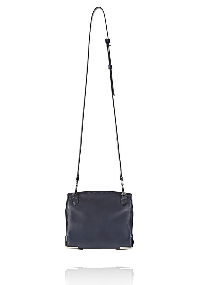 ALEXANDER WANG PRISMA SKELETAL MARION SLING IN SOFT NEPTUNE WITH RHODIUM Shoulder bag Adult 12_n_d