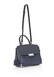 ALEXANDER WANG LARGE PRISMA SKELETAL MARION IN NEPTUNE WITH RHODIUM Shoulder bag Adult 8_n_e