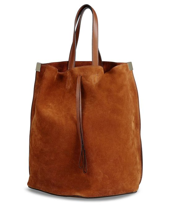 MAISON MARGIELA 11 Suede 'bucket' tote Tote D f