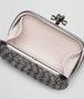 BOTTEGA VENETA KNOT IN SILVER INTRECCIO Clutch Woman dp