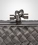 BOTTEGA VENETA KNOT IN SILVER INTRECCIO Clutch Woman ep