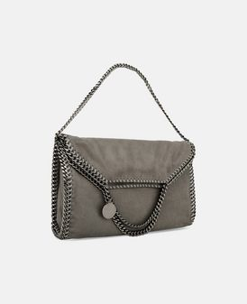 Tote Bag Falabella Fold Over en Shaggy Deer