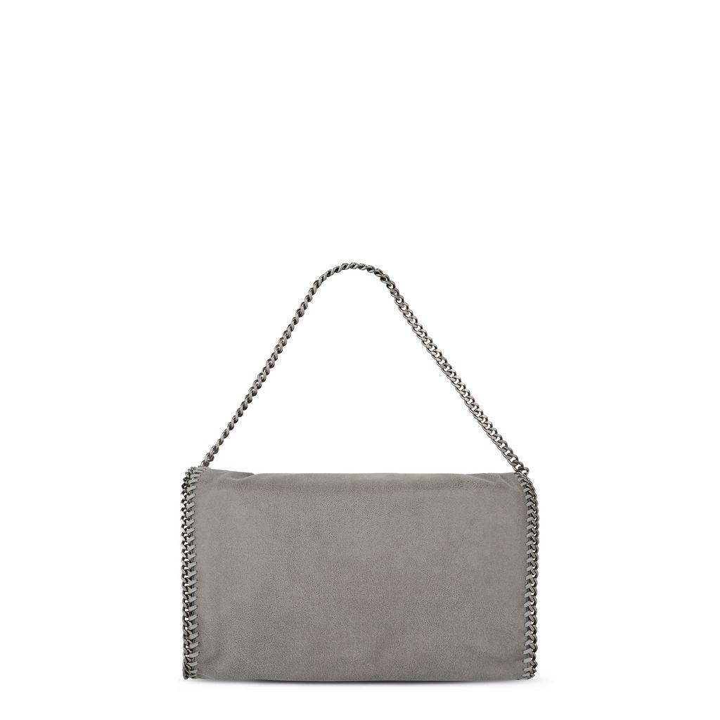 Falabella Tote Bag mit Überschlag aus Shaggy Deer - STELLA MCCARTNEY