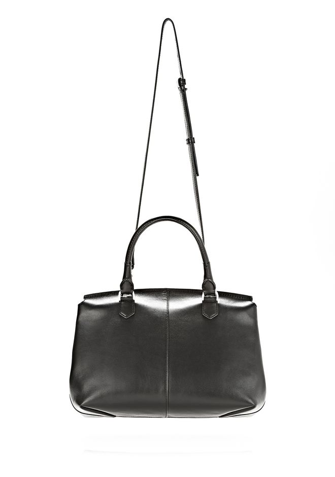 ALEXANDER WANG LARGE MARION SLING IN BLACK WITH EYELETS AND RHODIUM  Shoulder bag Adult 12_n_a