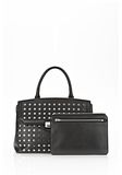 ALEXANDER WANG LARGE MARION SLING IN BLACK WITH EYELETS AND RHODIUM  Shoulder bag Adult 8_n_e