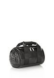 ALEXANDER WANG RUNWAY STUDDED SMALL DUFFEL BAG IN BLACK WITH RHODIUM Shoulder bag Adult 8_n_a
