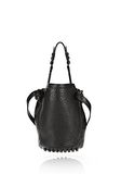 ALEXANDER WANG SMALL DIEGO IN PEBBLED BLACK WITH MATTE BLACK Shoulder bag Adult 8_n_d