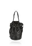 ALEXANDER WANG SMALL DIEGO IN PEBBLED BLACK WITH MATTE BLACK Shoulder bag Adult 8_n_f