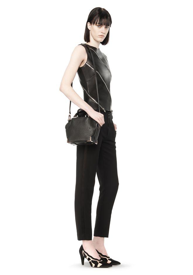 ALEXANDER WANG MINI EMILE IN PEBBLED BLACK WITH ROSE GOLD Shoulder bag Adult 12_n_r
