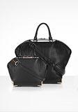 ALEXANDER WANG MINI EMILE IN PEBBLED BLACK WITH ROSE GOLD Shoulder bag Adult 8_n_a