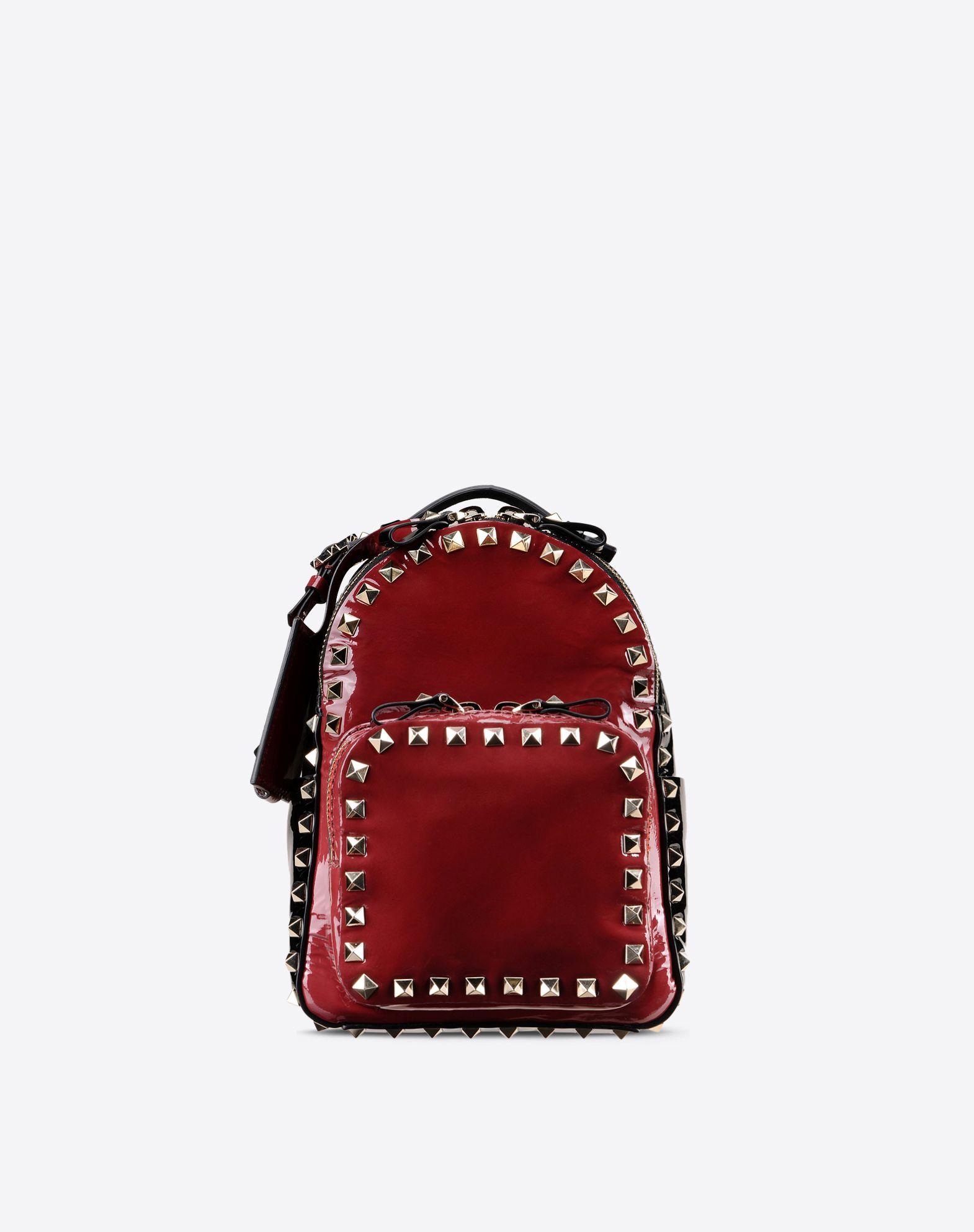 VALENTINO Rockstud small backpack 45263447bw