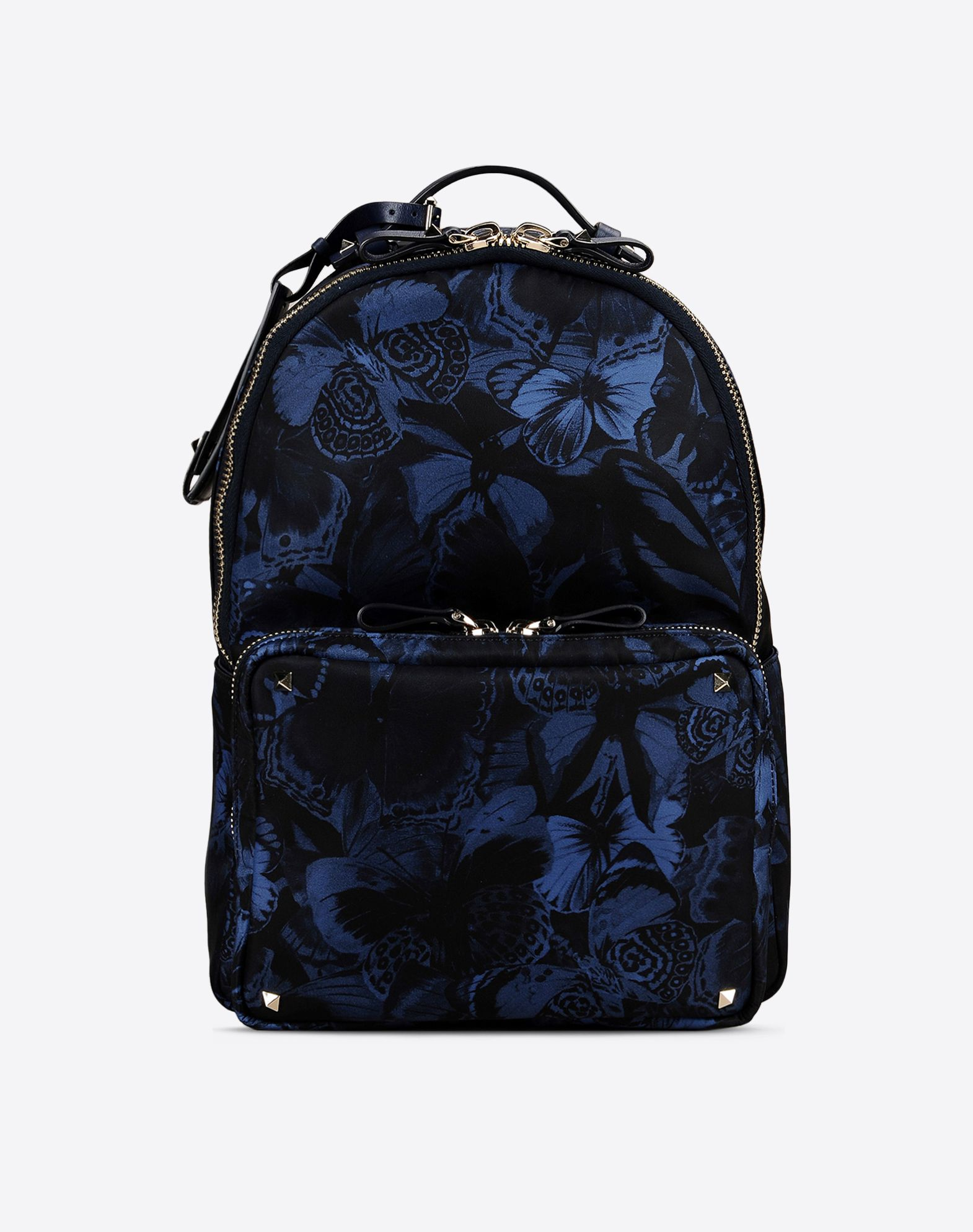 Blue Valentino Garavani New Camo Backpack Valentino Cheap Big Discount Limited Edition Sale Online Buy Cheap New Clearance Release Dates oU4EMJat
