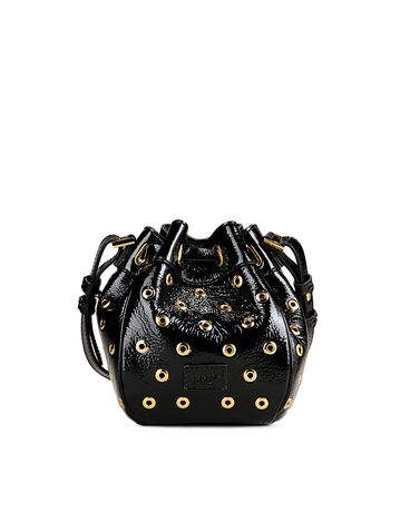 e49eec9f2721 REDValentino Bucket Bag With Eyelets Detail - Shoulder Bag for Women ...
