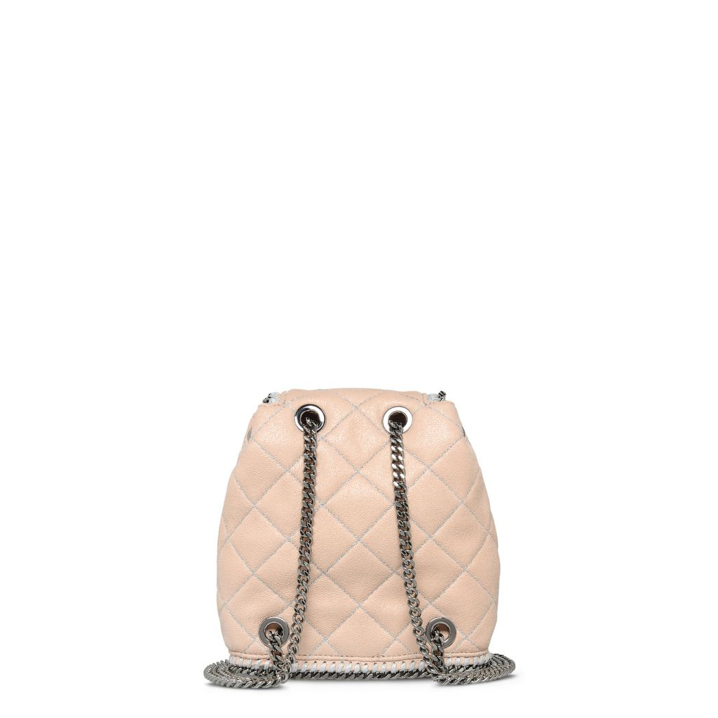 Falabella Quilted Powder Mini Backpack - STELLA MCCARTNEY