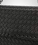 BOTTEGA VENETA SMALL OLIMPIA BAG IN NERO INTRECCIATO NAPPA Shoulder or hobo bag D ep
