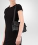 BOTTEGA VENETA SMALL OLIMPIA BAG IN NERO INTRECCIATO NAPPA Shoulder or hobo bag D lp