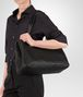 BOTTEGA VENETA LARGE TOTE BAG IN NERO INTRECCIATO NAPPA Top Handle Bag D ap