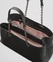 BOTTEGA VENETA LARGE TOTE BAG IN NERO INTRECCIATO NAPPA Top Handle Bag D dp