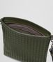 BOTTEGA VENETA SMALL MESSENGER BAG IN DARK SERGEANT INTRECCIATO VN Messenger Bag U dp