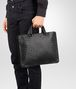 BOTTEGA VENETA BRIEFCASE IN NERO INTRECCIATO CALF Business bag Man ap