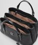 BOTTEGA VENETA ROMA BAG IN NERO NAPPA, AYERS DETAILS Top Handle Bag Woman dp