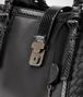 BOTTEGA VENETA ROMA BAG IN NERO NAPPA, AYERS DETAILS Top Handle Bag Woman ep