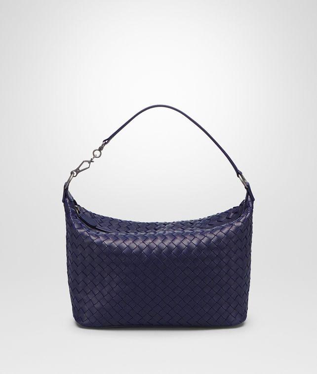 3b61dc8386 BOTTEGA VENETA SMALL SHOULDER BAG IN ATLANTIC INTRECCIATO NAPPA Shoulder Bag       pickupInStoreShipping info