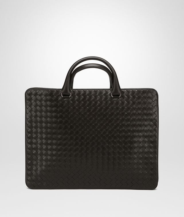 BOTTEGA VENETA BRIEFCASE IN MORO INTRECCIATO CALF Business bag Man fp