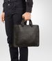 BOTTEGA VENETA BRIEFCASE IN MORO INTRECCIATO CALF Business bag Man ap