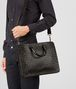 BOTTEGA VENETA BRIEFCASE IN MORO INTRECCIATO CALF Business bag U lp