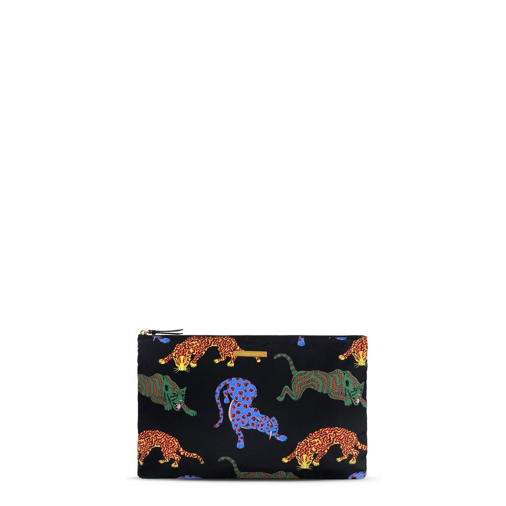 Noemi Leopard Clutch - STELLA MCCARTNEY