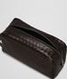 BOTTEGA VENETA TOILETRY CASE IN ESPRESSO INTRECCIATO VN Small bag U dp