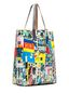 Marni SHOPPING bag in pvc Roger Mello print Woman - 2