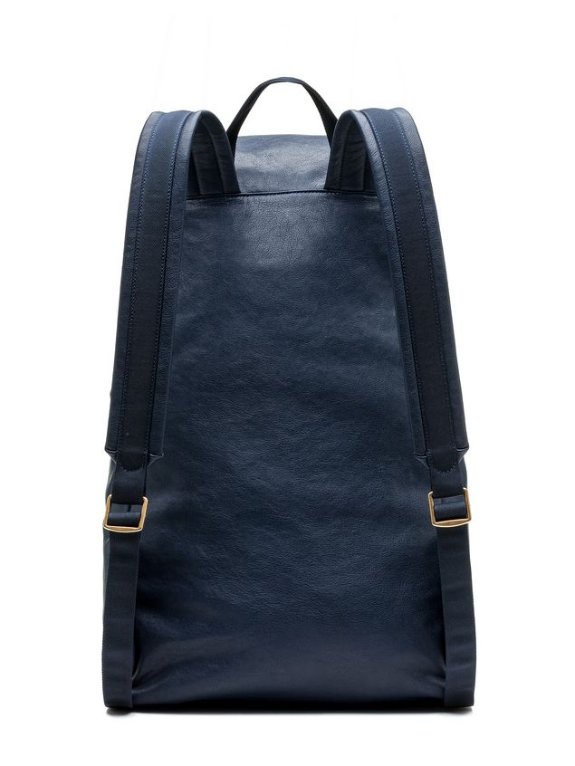 Marni Backpack in contrasting-colored matte nappa   Man