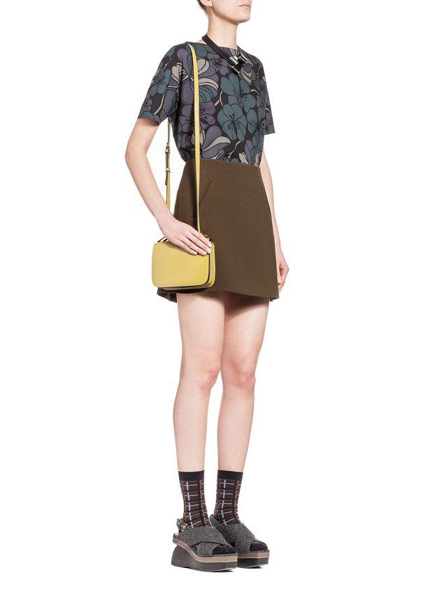 Marni SCULPTURE bag in shiny calfskin Woman - 5